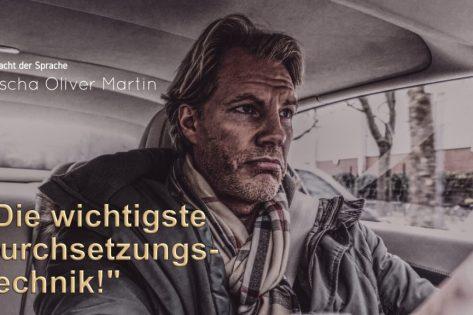 Sascha Oliver Martin Durchsetzungstechnik