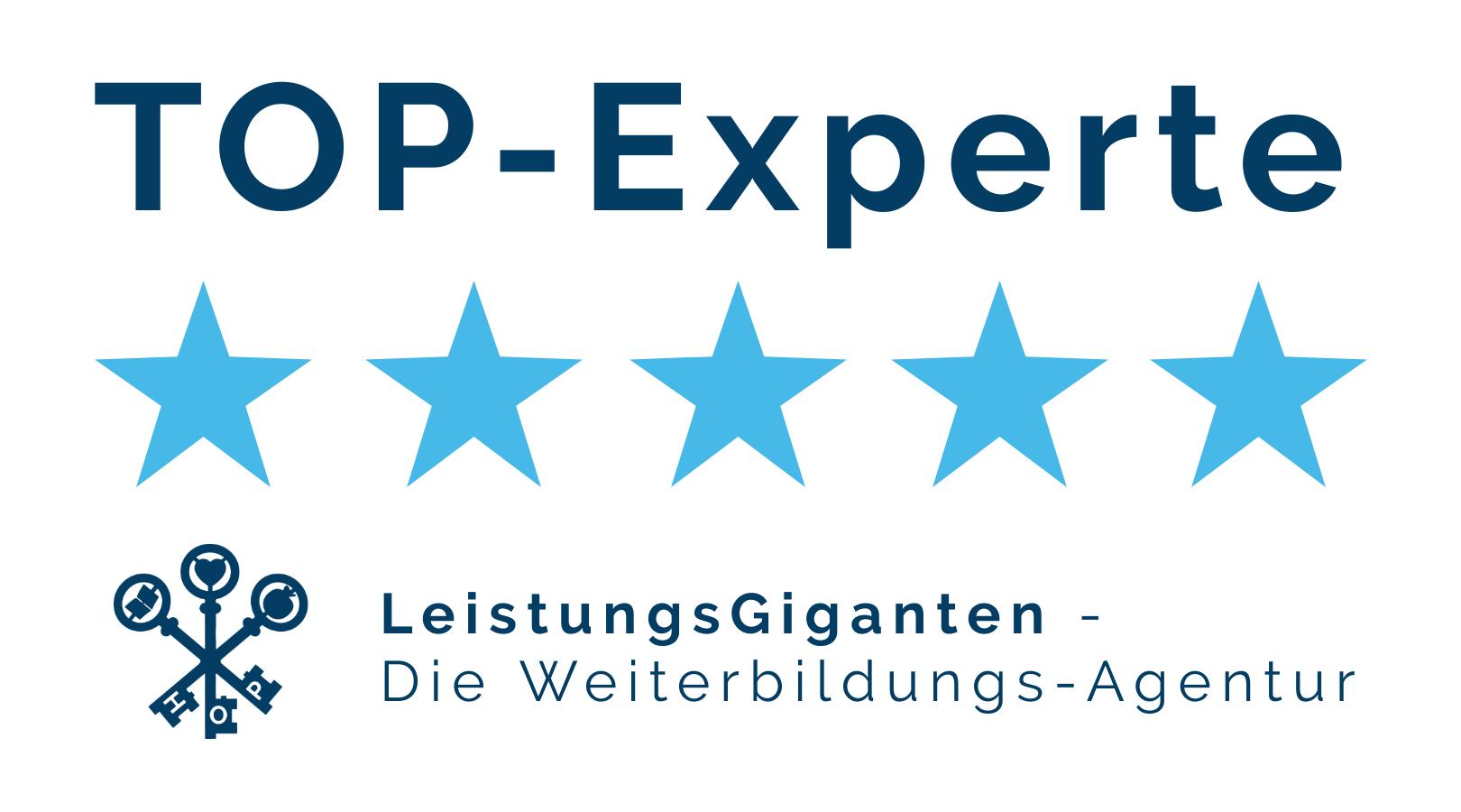 LeistungsGiganten Top-Experte